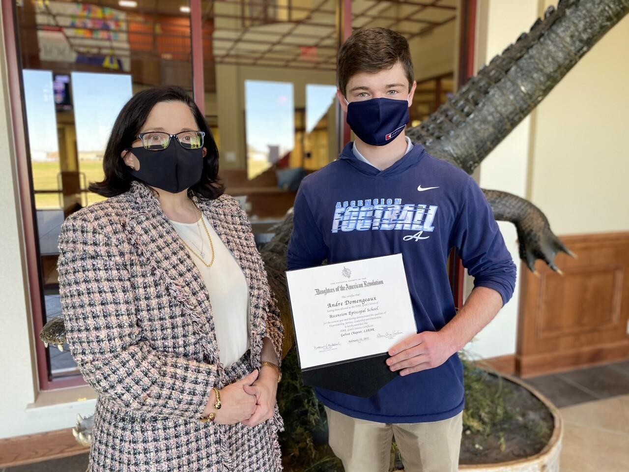 Andre DAR Scholarship Winner.jpg