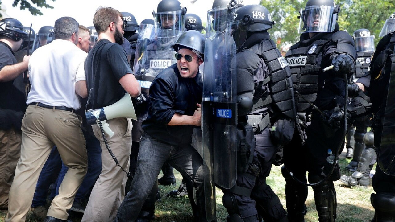 Protesters blame Charlottesville Police for not stopping rally violence