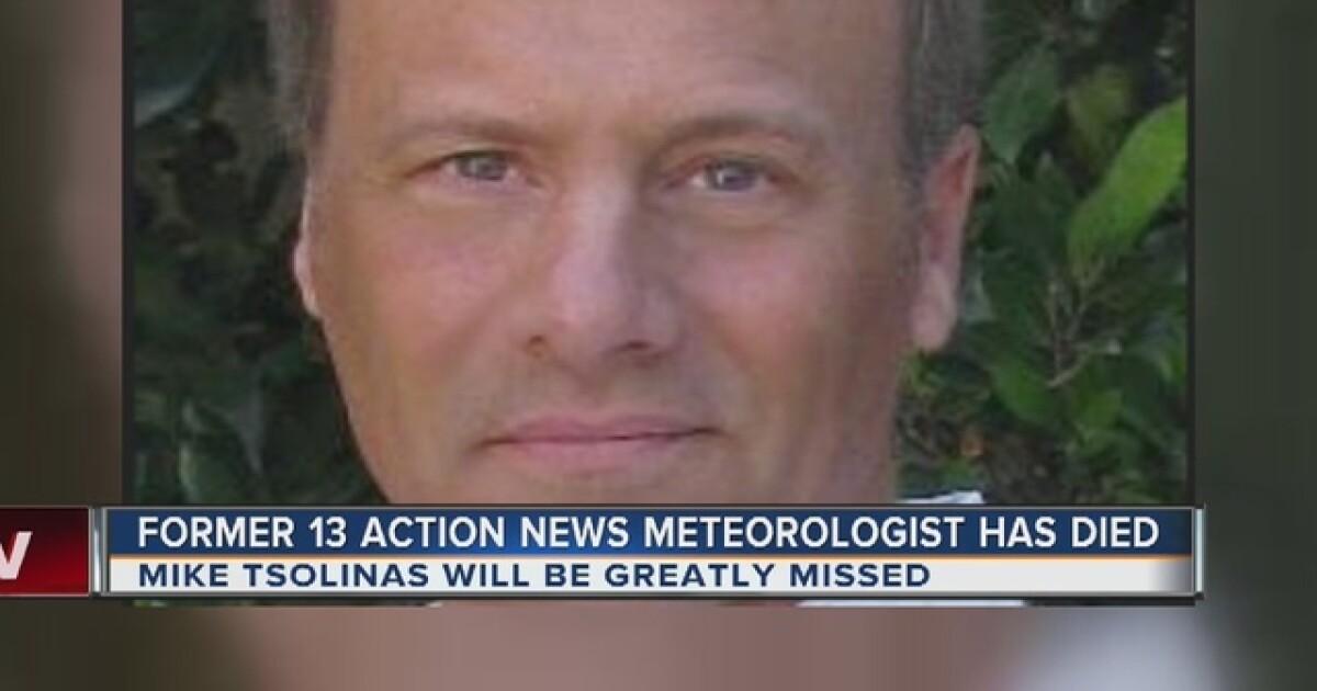 Former KTNV meteorologist Mike Tsolinas dies