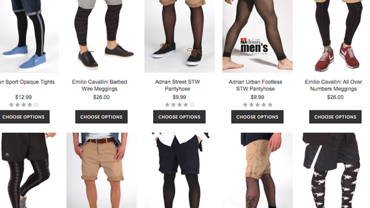1d729299 Mantyhose, lacey shorts, RompHim: 3 trends for men make social media rounds