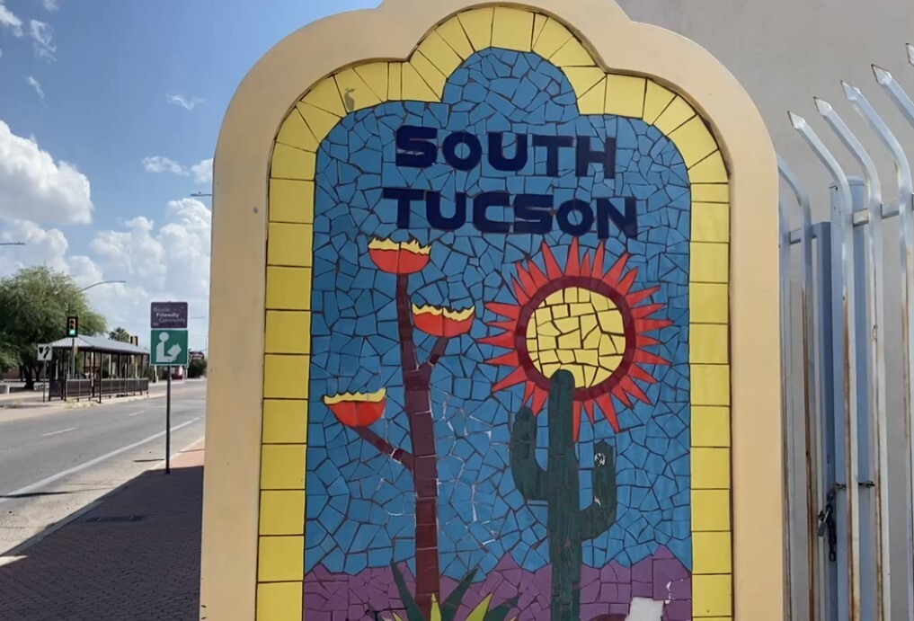 South Tucson Welcome Sign