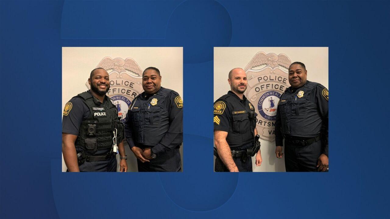 Life-saving Officers