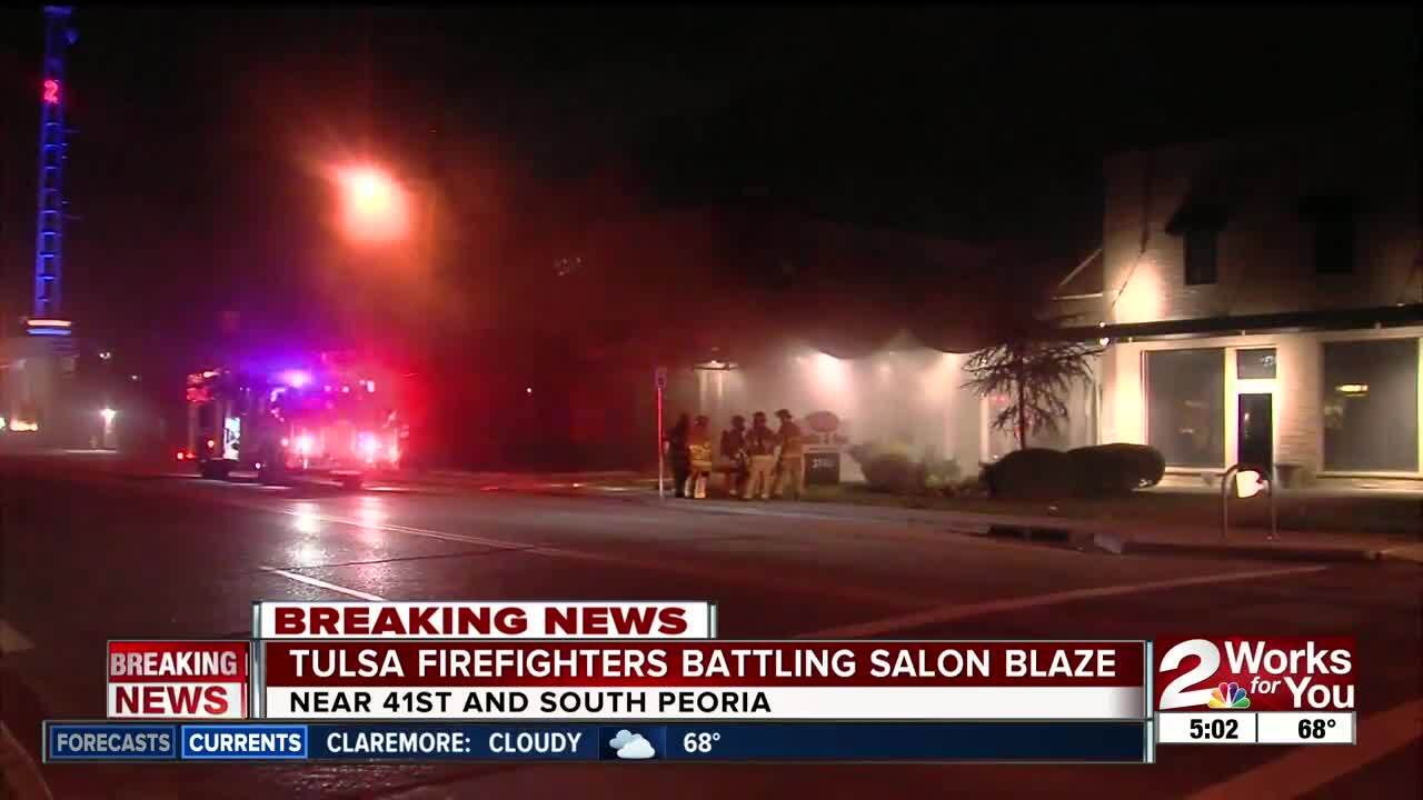 Posh Nail Salon closed after fire