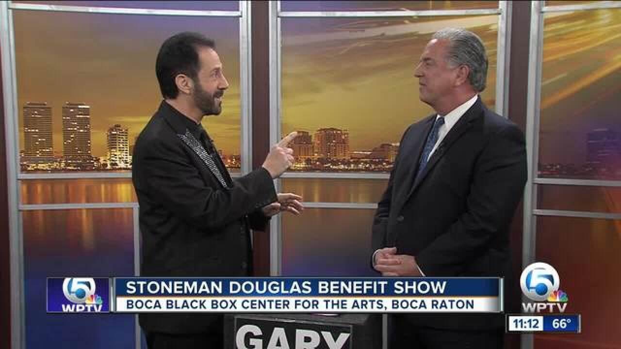 Boca Black Box Center holding Stoneman Douglas High School Benefit on March 20