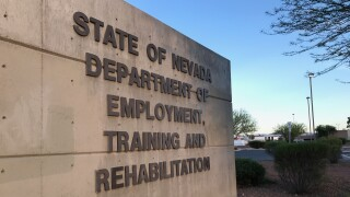 The State of Nevada Department of Employment, Training and Rehabilitation building on E. St. Louis in Las Vegas