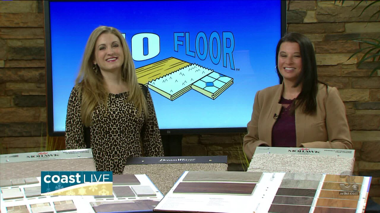 Holiday decor and deals on flooring on CoastLive