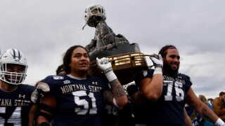 Montana State Bobcats great divide trophy