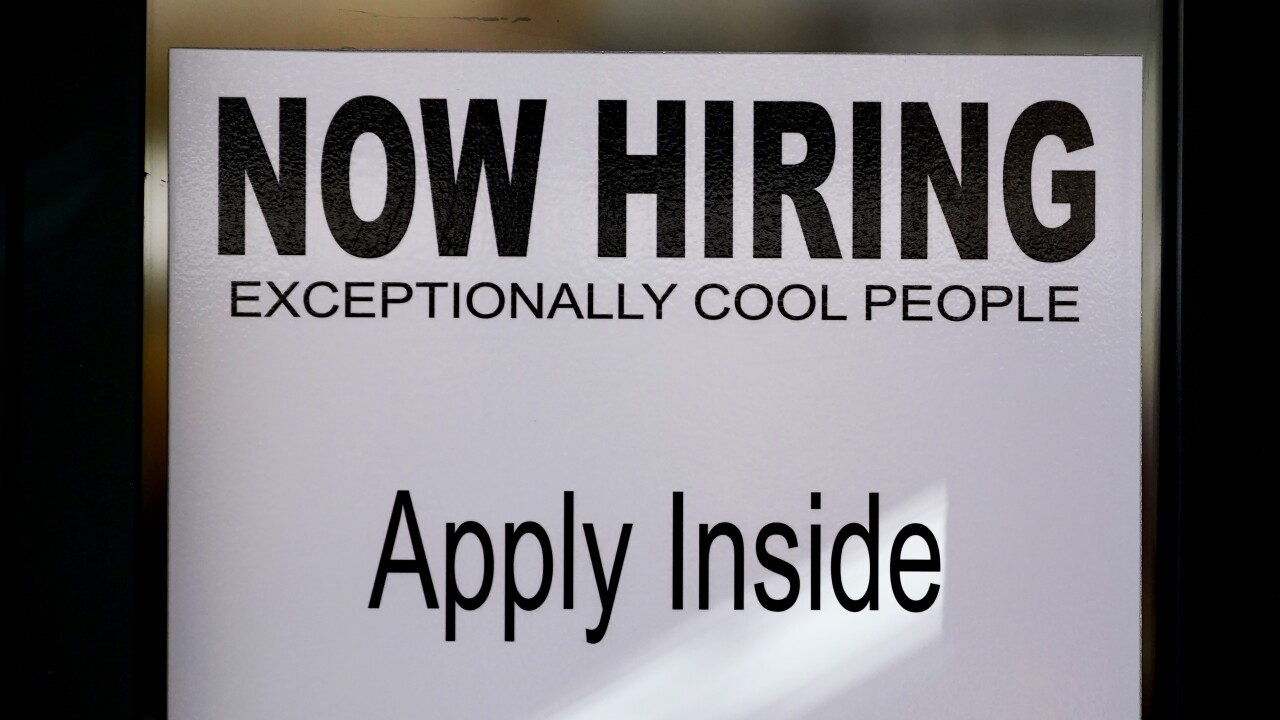 First-time unemployment claims down, still historically high says Labor Department