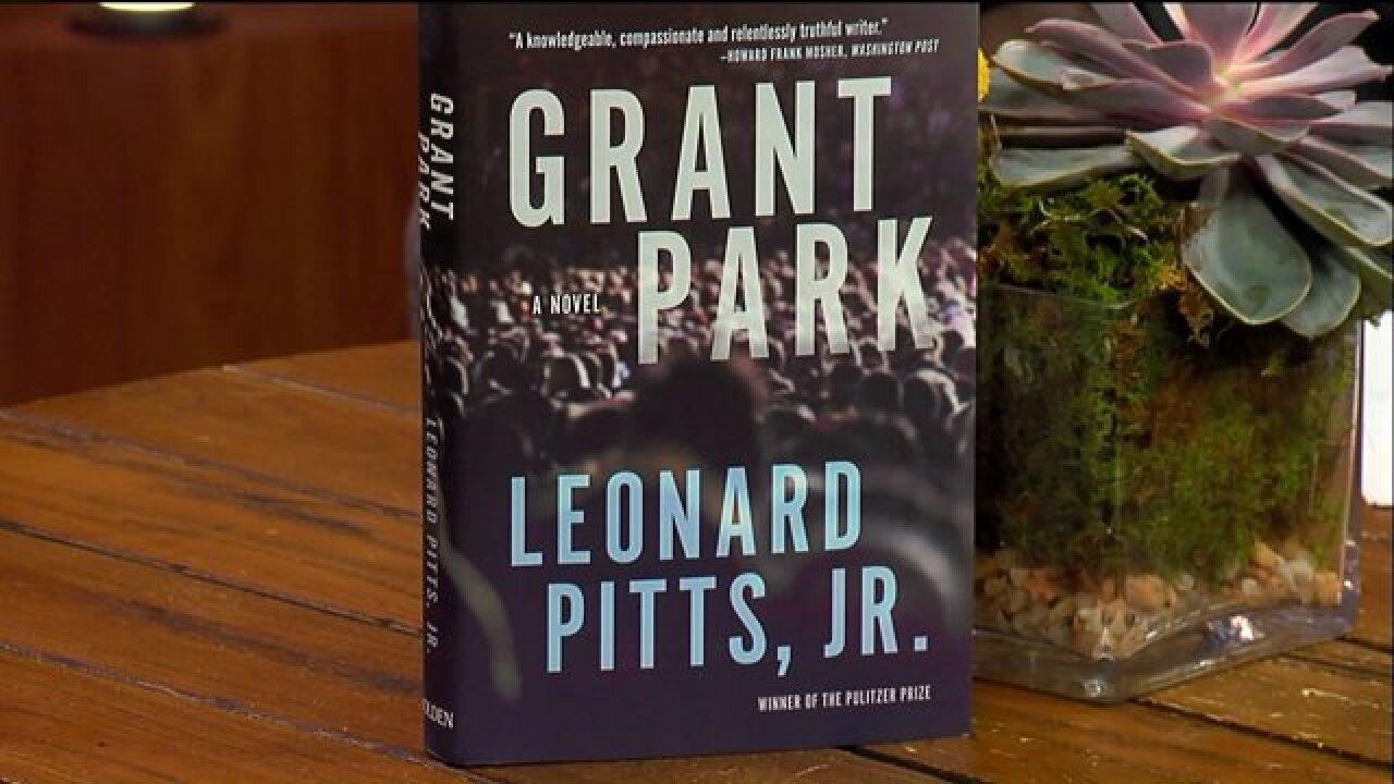 Pulitzer Prize Winning writer Leonard Pitts, Jr., introduced his latest work, 'GrantPark.'