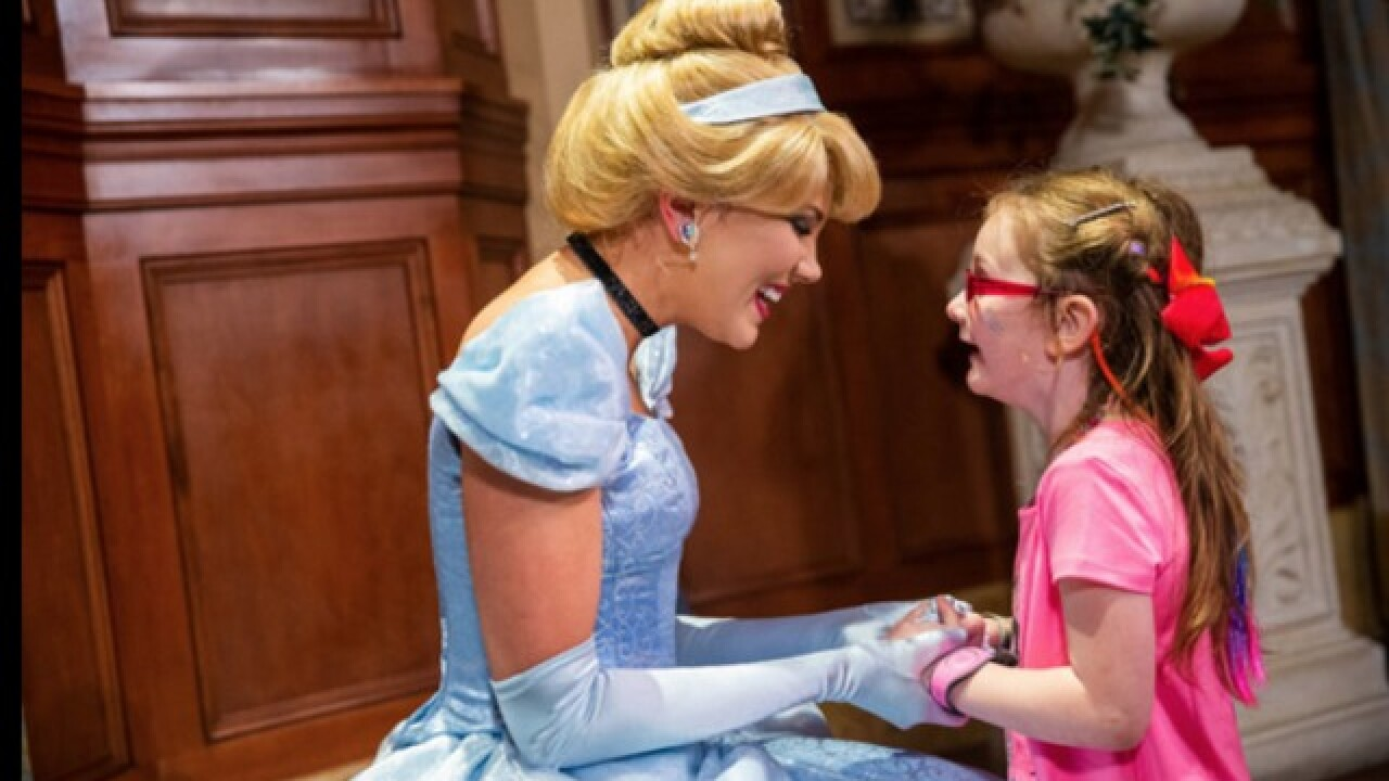 Little girl's Cinderalla story comes true