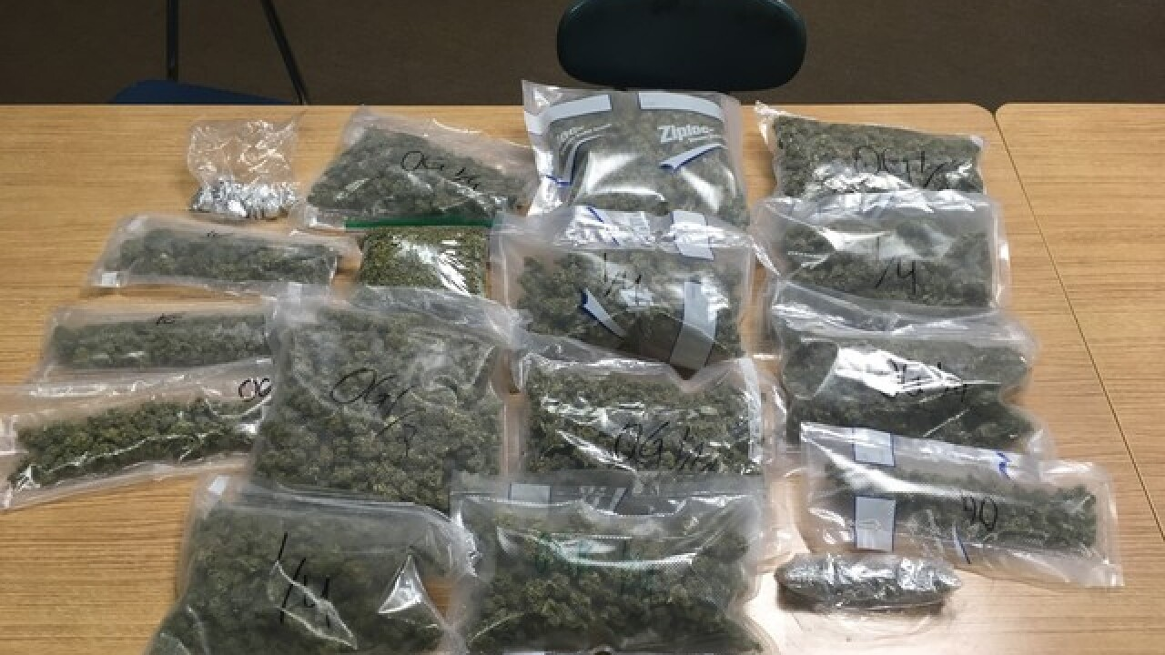 Police seize four pounds of marijuana in Olean