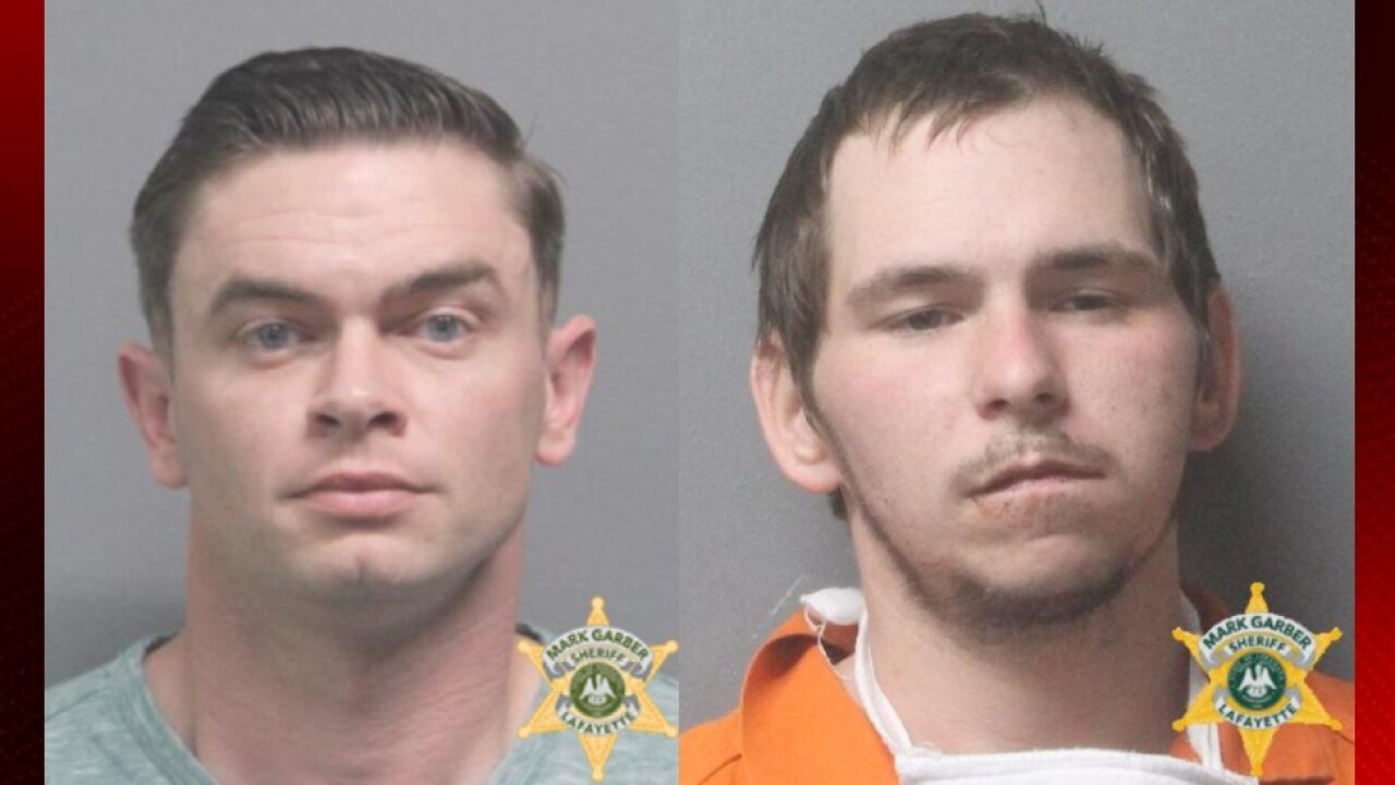 Alex Ritter, left, and Edmond Thornton, Courtesy LPSO