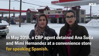 Ana Suda and Mimi Hernandez claim they were illegally detained