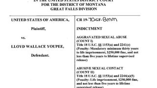 Youpee charged in federal court