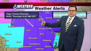 Juan Acuña's weather forecast for Feb. 18