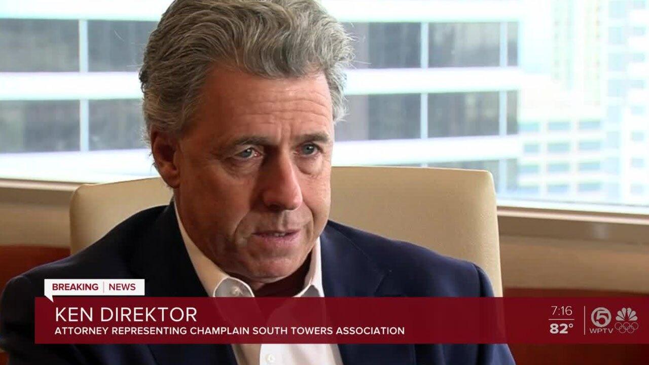 Ken Direktor, the attorney representing Champlain South Towers Association