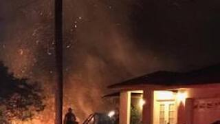Multiple brush fires in Lehigh Acres cause evacuations