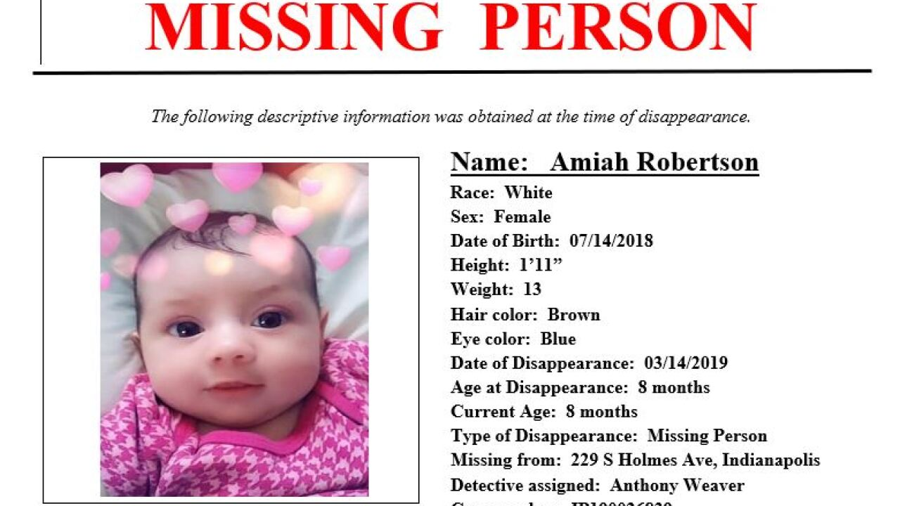 Search for missing 8-month-old in Indiana is now a homicide investigation, police say
