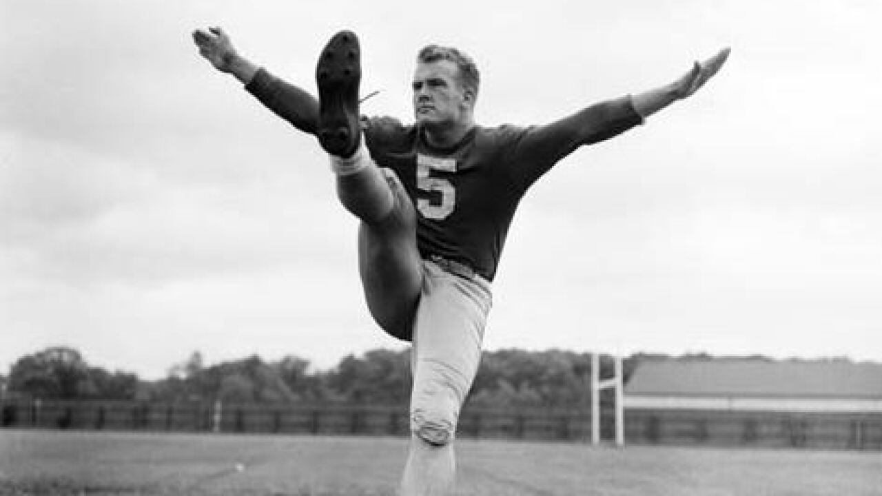 Paul Hornung in 1956 (Notre Dame Archives)