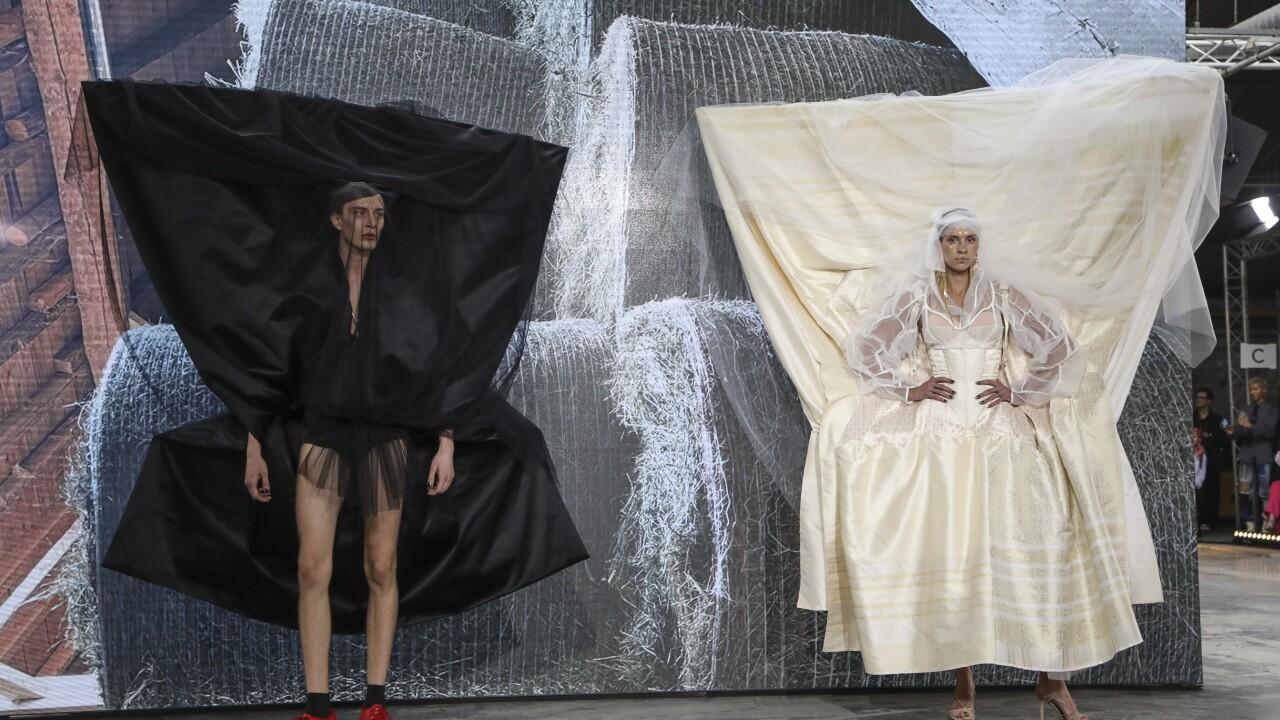 APTOPIX Paris Fashion S/S 2022 Vivienne Westwood