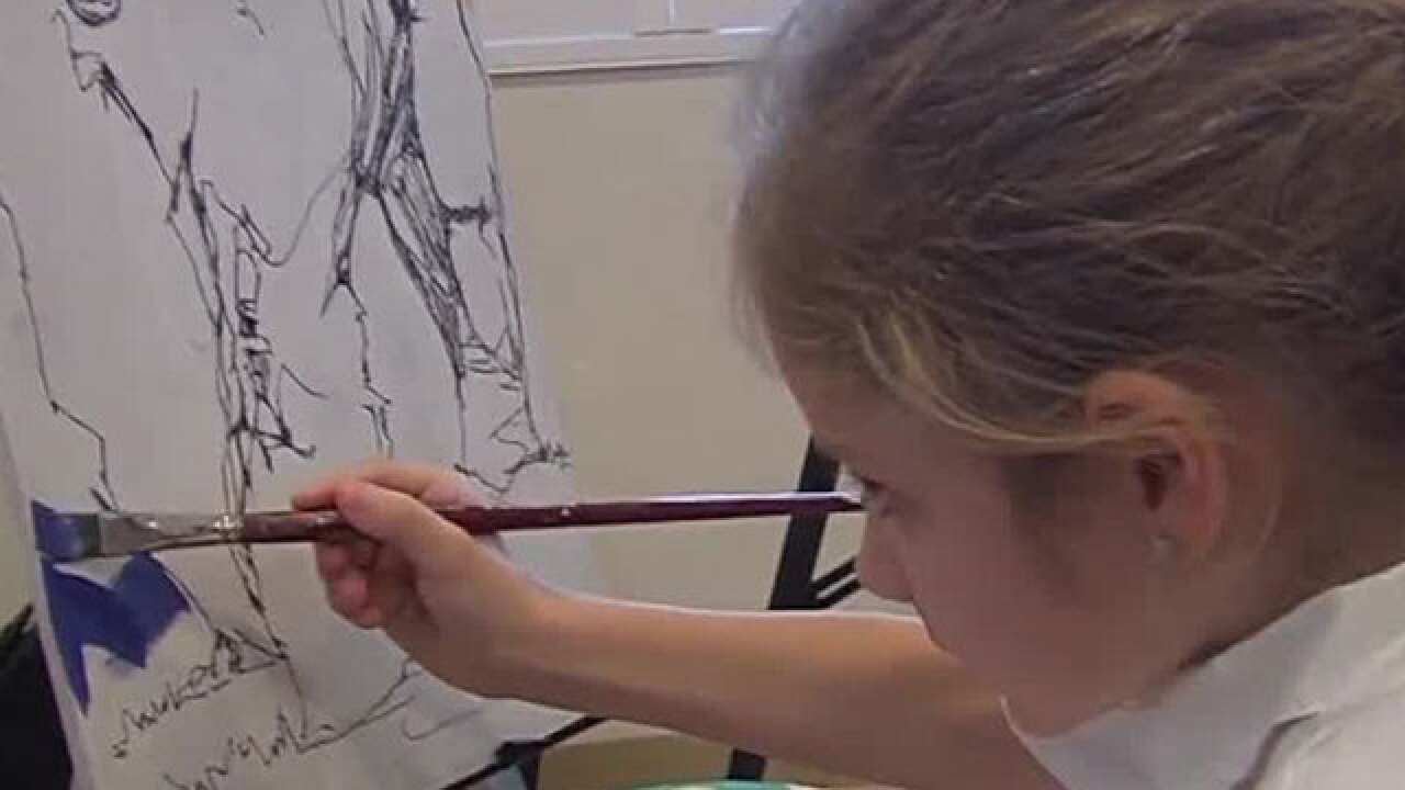 Quantum House holds day of art, music for children