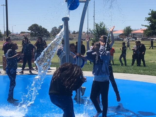 PHOTOS: Splash pad opens at Von Tobel Park