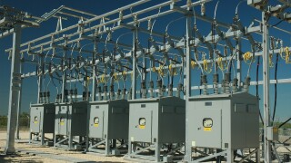 Electrical sub station electricity outages