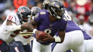 Ravens QB Lamar Jackson tops all NFL players in balloting for the 2020 ProBowl