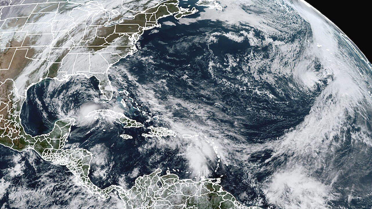 Tropical Storm Eta has sights set on Gulf Coast of Florida