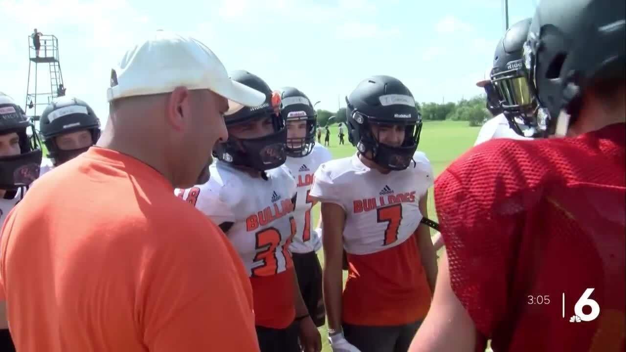 Orange Grove excited about return to football practice