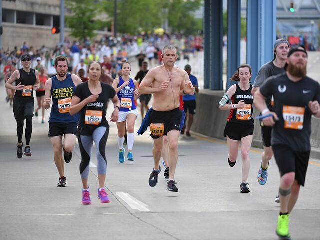 2018 Flying Pig Marathon