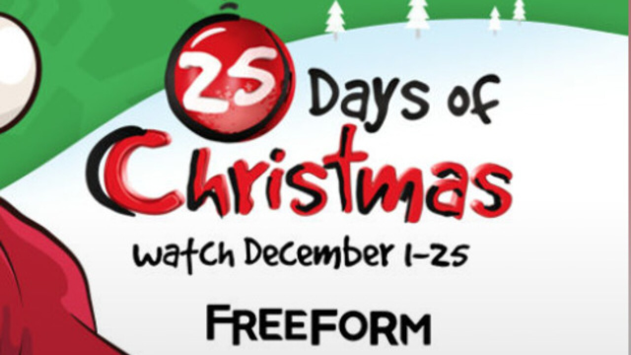 Freeform Christmas Schedule.Freeform Unveils 2017 25 Days Of Christmas Schedule