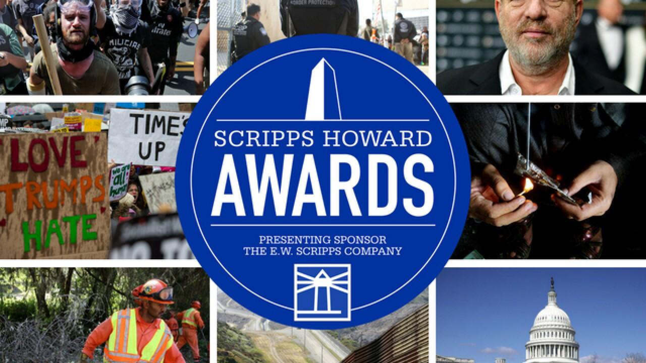 Scripps Howard Awards show celebrates journalism: Winners include NY Times, Washington Post and more
