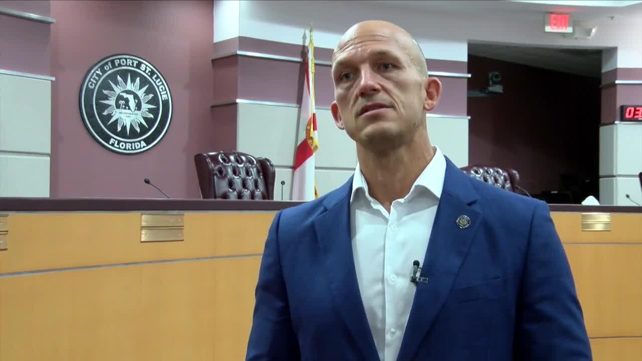 Greg Oravec, outgoing mayor of Port St. Lucie, June 28, 2021