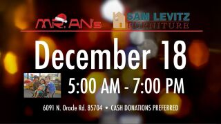 Annual Holiday Donation Drive
