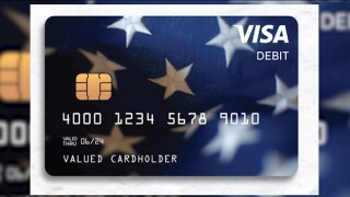 Stimulus debit card