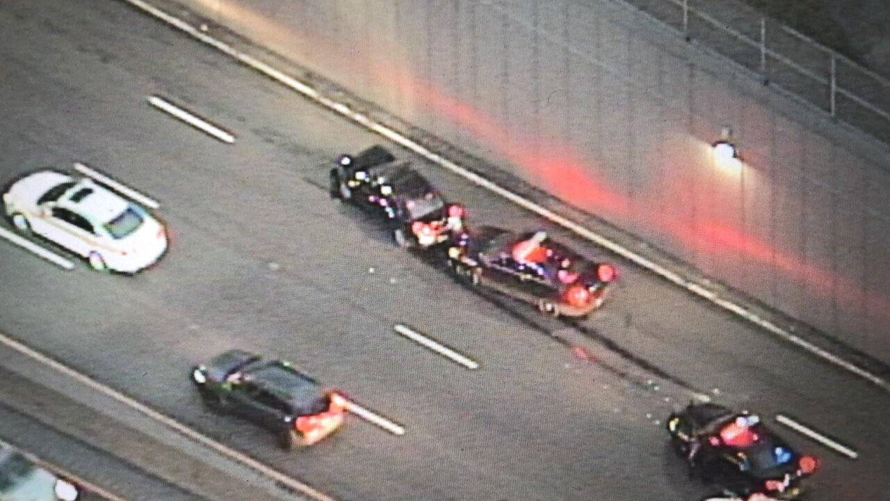 Crash on I-90 eastbound