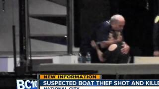 Suspected boat thief shot and killed in National City