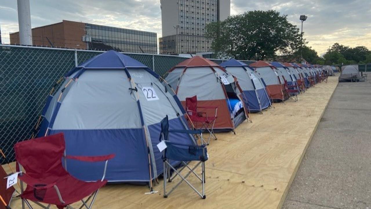 The Center temporary homeless shelter Norfolk