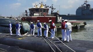 USS Newport News Returns From Deployment
