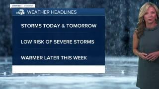 May 4 2021 5:15am forecast