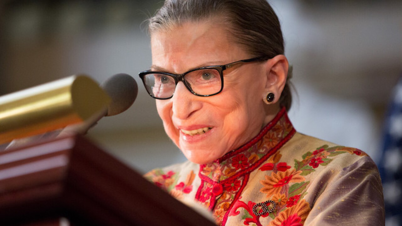 Supreme Court: Justice Ruth Bader Ginsburg hospitalized
