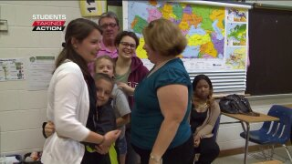 Students Taking Action: Amazing teen aspires to become a teacher