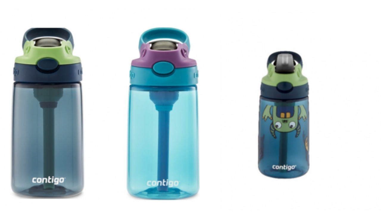 Contigo recalls millions of kids water bottles due to choking hazard