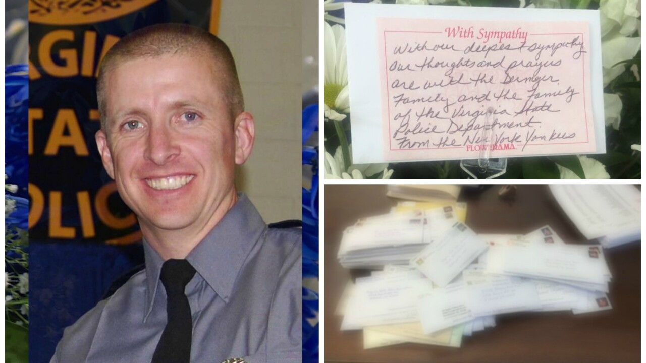 Donations for Trooper Chad Dermyer pour in from across the country