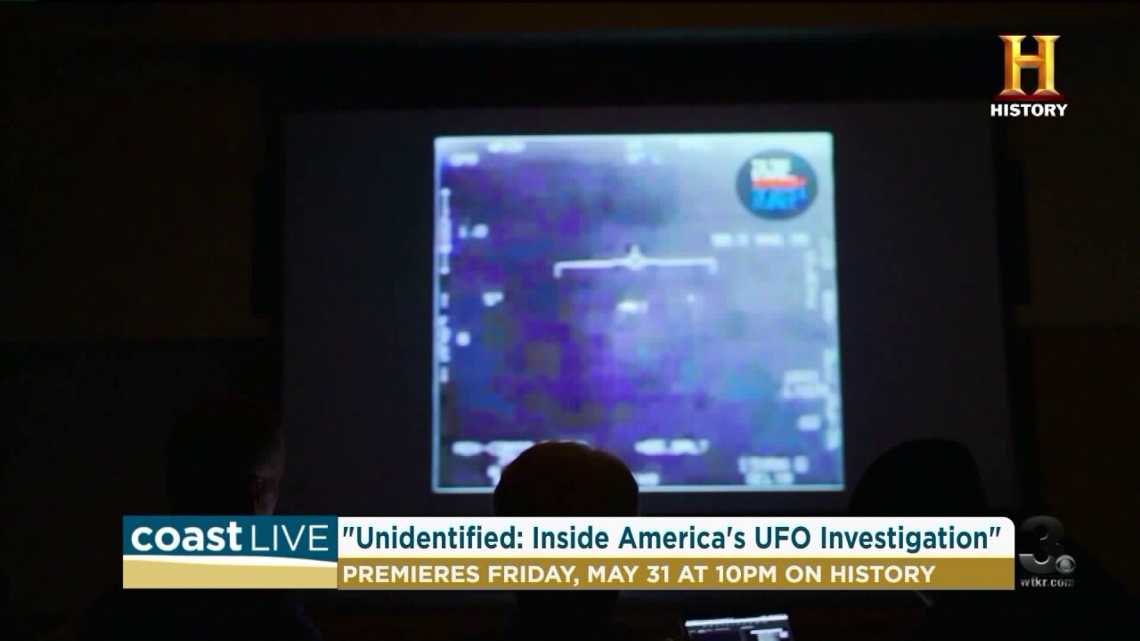 A former Pentagon expert speaks out about UFO's on Coast Live