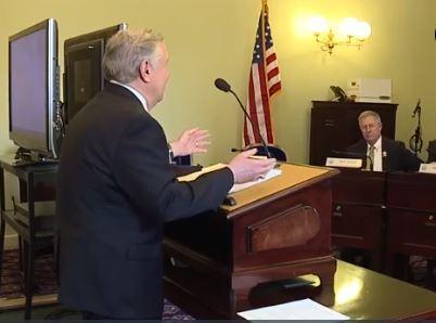 Ron testifies about towing legislation
