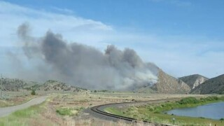 Sappington Fire near Willow Creek burns almost 200 acres