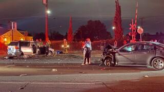 Car crash Norris rd October 22, 2021