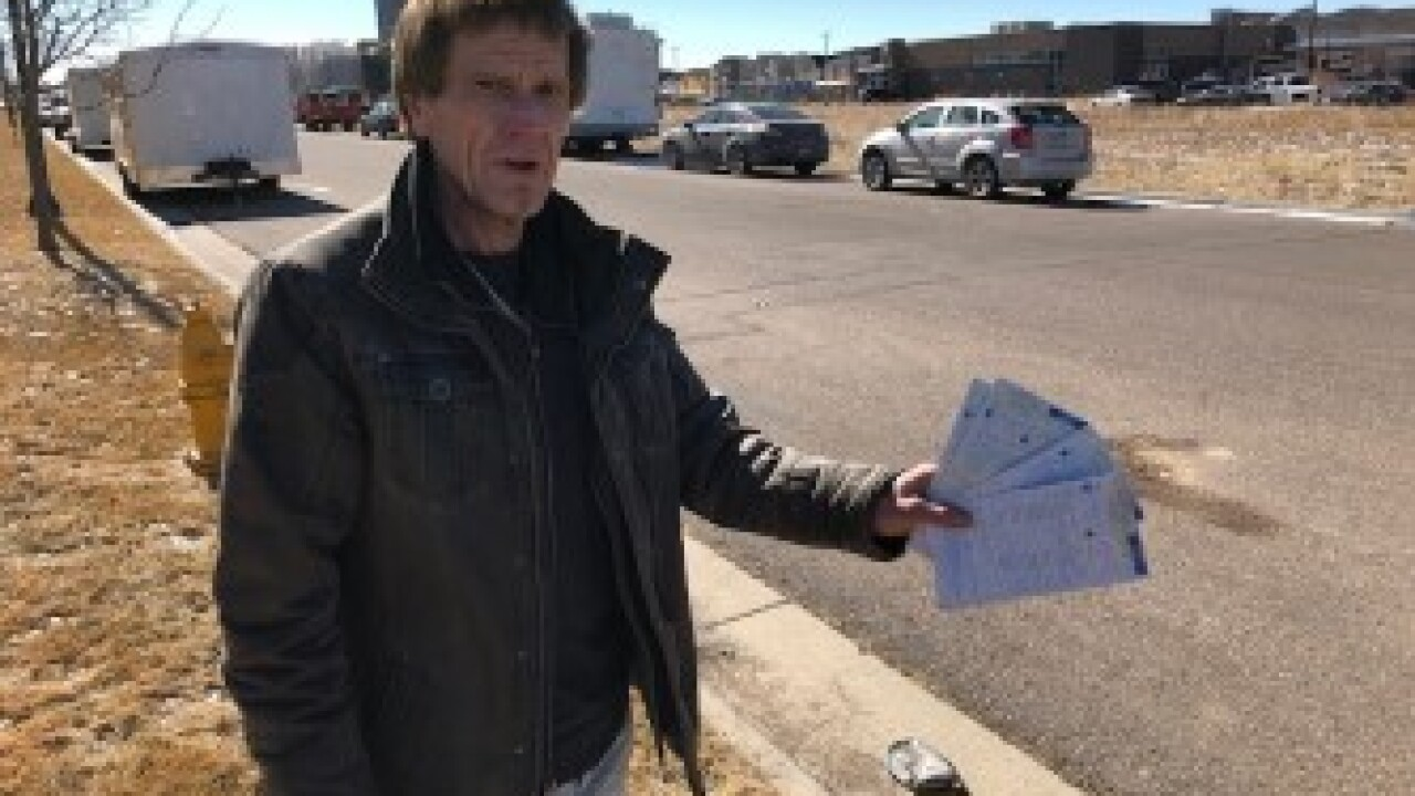 Denver man holds multiple tickets issued for expired plates on parked RV